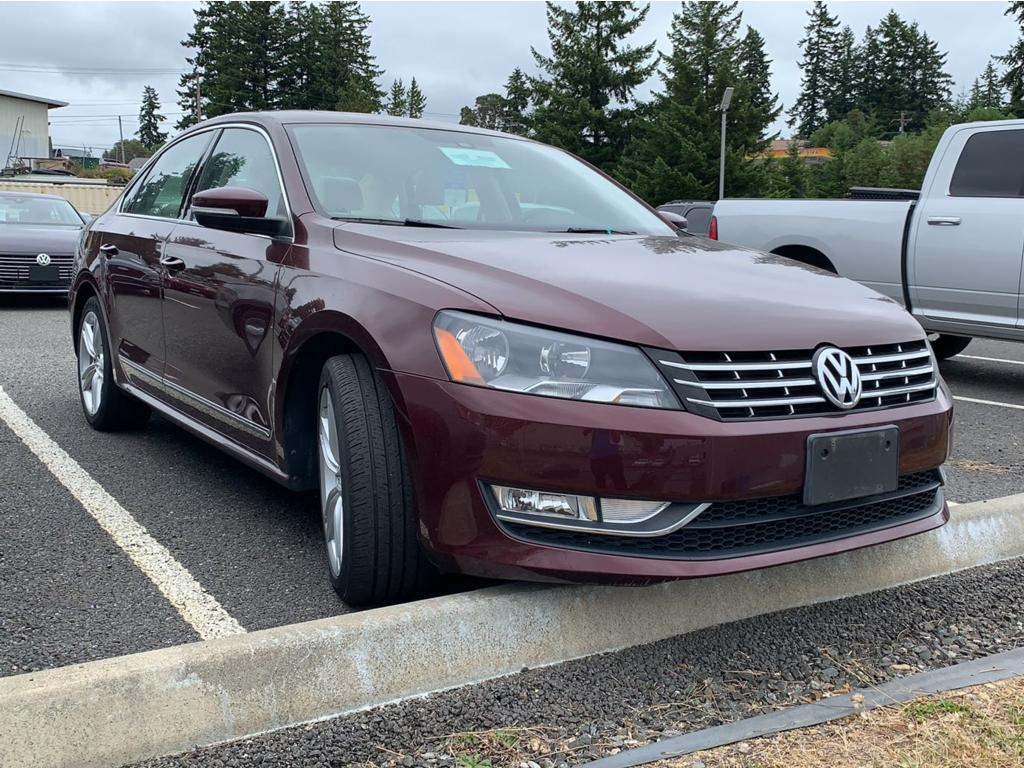 Pre-Owned 2014 Volkswagen Passat TDI SEL Premium Car 2 0 liter 4 Cylinder  Engine 6-Speed DSG Automatic w/Tiptronic FWD