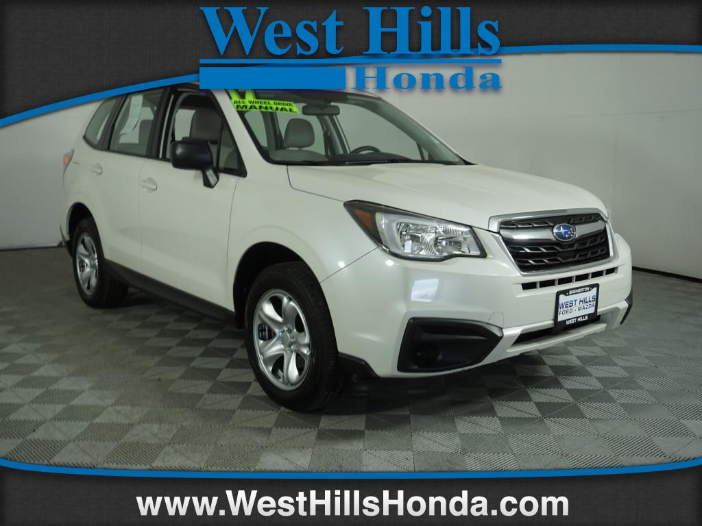 Pre Owned 2017 Subaru Forester 2 5i