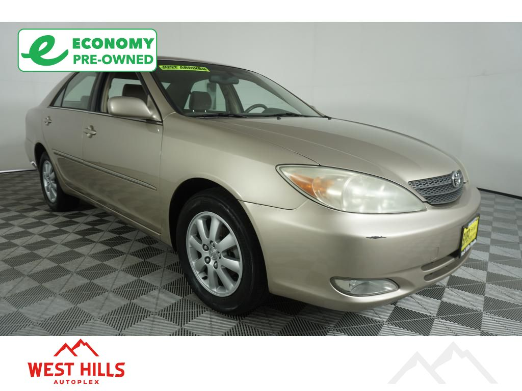 pre owned 2004 toyota camry xle car in bremerton eh8178 west hills honda west hills honda