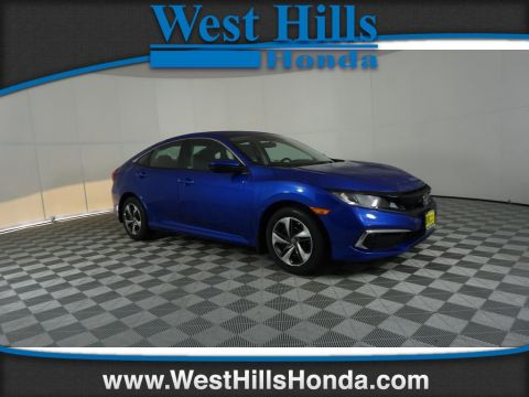 New 2019 Honda Civic LX w/Honda Sensing