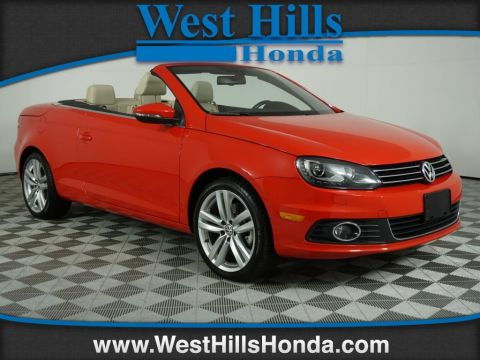 Pre-Owned 2015 Volkswagen Eos Executive